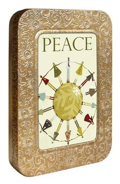 ~ Joy Holiday, Give Peace A Chance, Frame, Picture Frame, Frames