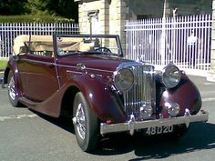 Classic Car News Pics And Videos From Around The World My Dream Car, Dream Cars, Rolls Royce, Automobile, Jaguar Daimler, Saloon, Vintage Sports Cars, Best Muscle Cars, Vintage Trucks