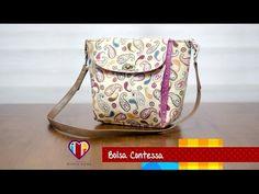 Bolsa de tecido Contessa - Maria Adna Ateliê - Cursos e aulas de bolsas de tecido - YouTube