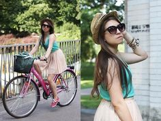 Riding around the world (by Una Bb) http://lookbook.nu/look/3744589-Riding-around-the-world