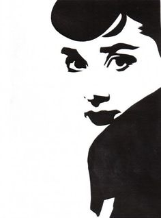 Tales from Salient City, Audrey Hepburn, paper cutting