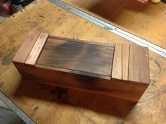 This is a clever way to add a locking mechanism to a Japanese-style toolbox. Clay Gossage was kind enough to send these photos of how he incorporated a wedge with a dovetail profile to lock the lids of boxes that he made in preparation moving his...