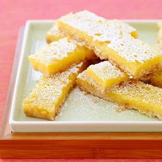 Lemon Bars | 11 Snack Hacks That You Can Thank Weight Watchers For Later