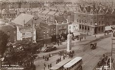 The Clock Tower, Clapham Common, South London by J. The tower is still there. View Larger Map In this magnificent view . London Pictures, London Photos, Old Pictures, Old Photos, Vintage London, Old London, London Clock, Clapham Common, London History