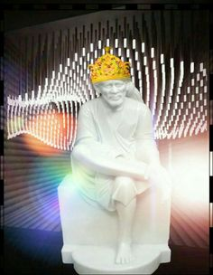SAI BABA. Shiva, Krishna, Sathya Sai Baba, Om Sai Ram, Buddha, Positivity, Faith, Statue, God