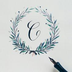 Calligraphy.