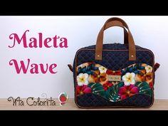 Passo a passo Smocked Baby Dresses, Secret Box, Handbag Patterns, Denim Bag, Quilted Bag, Sewing Patterns Free, Louis Vuitton Speedy Bag, Sewing Hacks, Bag Making