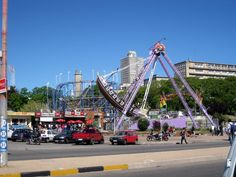 Parque Rodo -  y Facultad de Ingenieria Montevideo