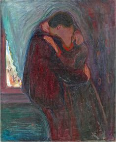 Edvard Munch - The kiss [1897]