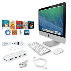 """Apple 21.5"""" 2.8GHz Core i5, 8GB/1TB All-in-One Bundle"""