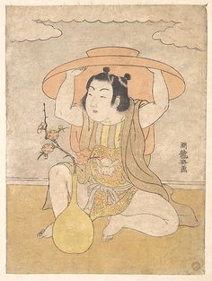 Isoda Koryûsai (Japanese, 1735–1790) Polychrome woodblock print; ink and color on paper