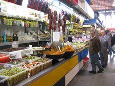 Málaga, Andalucía; Atarazanas,The Market Hall