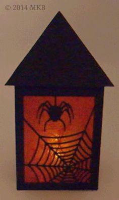 Halloween-Laterne – Miri's Kreativblog