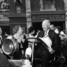 President Ike Eisenhower with his wife