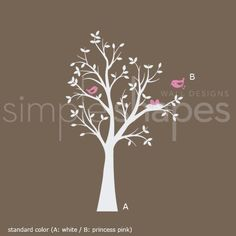 THE ORIGINAL Tree with Birds and Nest Decal by SimpleShapes, $68.00 http://www.etsy.com/listing/61970393/the-original-tree-with-birds-and-nest?ref=sc_3&sref=sr_d6ac6c37b624f6f60934c922c58746750fa5e029c5f2cab907e2ff20e3c5b266_1328976308_14093939_wall_decal