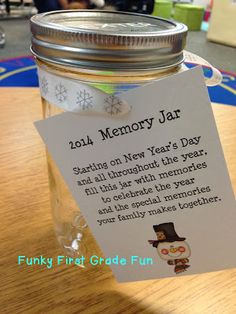 Funky First Grade Fun: Classroom Gifts for Students and Parents (freebie)