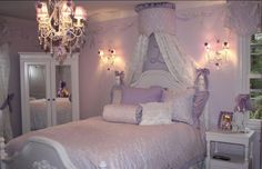 Beautiful Girl's Bedroom From Interior Designer Cheryl McConnell Of Sweet Lullaby Interiors