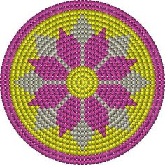 Billedresultat for crochet pattern wayuu bag Diy Crochet Patterns, Tapestry Crochet Patterns, Crochet Motifs, Crochet Chart, Filet Crochet, Crochet Projects, Beading Patterns, Stitch Patterns, Chat Crochet