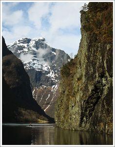 Nærøyfjord, Aurland, Norway (by ktanska)