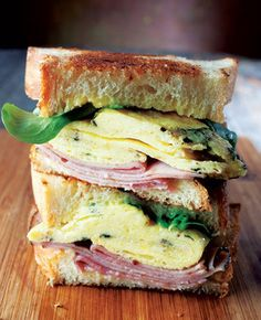 Ham, Cheese, Egg & Lemon Sandwiches | Food Truck-Inspired Recipes For Serious Foodies