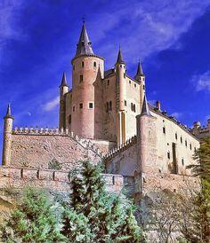 Alcazar of Segovia, Spain  source