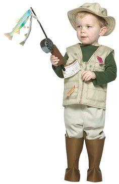 Disfraz de Pescador para Niño