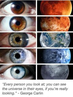 The universe in your eyes