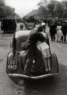 Robert Doisneau The Day of the Official Liberation of Paris 1944