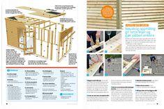 Utebod med smarte detaljer | Gjør Det selv Palm Beach, Home And Garden, Woodworking, Pergola, Barn, Storage, Interior, Outdoor, Furniture