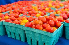 Check out Baskets of cherry tomatoes by Zigzag Mountain Art on Creative Market