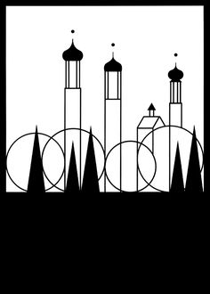 Otl Aicher – Graphic for Isny im Allgäu Graphic Illustration, Graphic Art, Otl Aicher, Wassily Kandinsky, Grafik Design, Op Art, Munich, Creative Art, Amazing Art