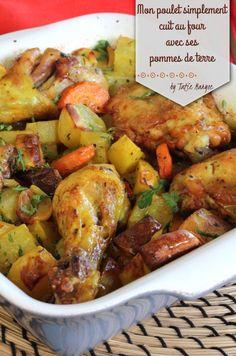 recette poulet pomme de terre