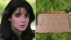 On November 4th 1982, 6 months after the filming of Poltergeist, Dominique Dunn was strangled to death by her estranged boyfriend, John Sweeney, at her Hollywood apartment. Buried at Westwood Memorial Park, Los Angeles, CA