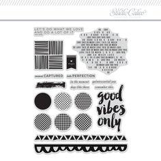 Studio Calico I Love Alabama Clear Stamp Set