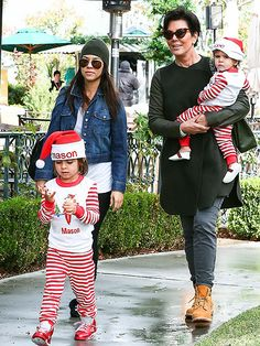 From Mason Disick to Haven Warren, check out Hollywood's cutest Santa babies.