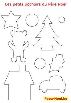 imprimer un pochoir de Noël gratuit pochoirs étoiles de NOEL pochoir boule de…