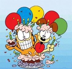 20 Garfield Birthday Images Garfield Birthday Garfield Birthday