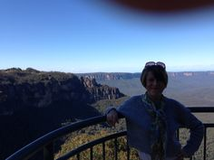 Me visiting the stunning Blue Mountains, NSW, Australia