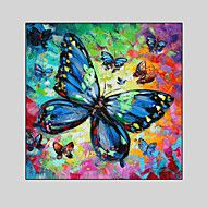 Hand-Painted Animal / Fantasy Modern Oil Painting , Canvas One Panel With Frame – AUD $ 160.15