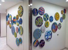 """Flow"" - Children's Hospital Boston -  Mosaics by mosaic artist Cynthia Fisher - B I G  B A N G  M O S A I C S"