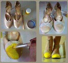 Neon & Nude. Amarillo al desnudo