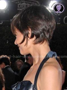 Cute Short Haircuts - Katie Holmes - Short Layered Bob Hairstyles