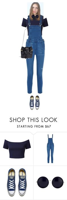 """""""Enid #6195"""" by canlui ❤ liked on Polyvore featuring Rebecca Minkoff, Converse, The Row, Chloé, GetTheLook, chic, simple and airportstyle"""