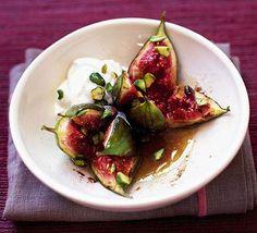Sticky cinnamon figs. Drool. http://www.bbcgoodfood.com/recipes/2331/sticky-cinnamon-figs