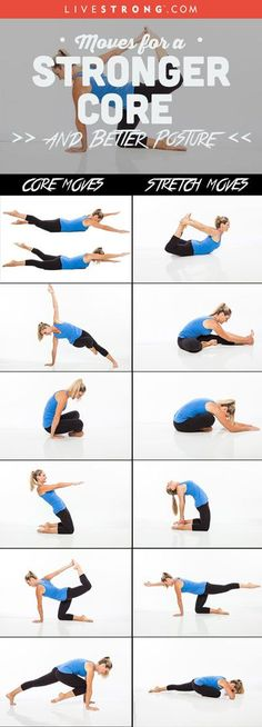 Try this routine up to 5 days a week for a stronger, more flexible body…