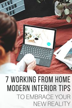 Modern interior for work fro home new reality from The Wardrobe Stylist. Update your home design to be able to adjust to working remotely on a regular basis. Modern interior easy tips and adjustment. #HomeDecor #HomeDesign #Decor #WorkFromHome