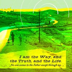"""""""Jesus replied, """"I am the way, and the truth, and the life. No one comes to the Father except through me."""" John 14:6 NET http://bible.com/107/jhn.14.6.net"""