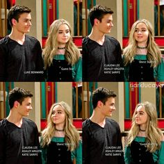 "#GirlMeetsWorld 3x02 ""Girl Meets High School: Part Two"" - Lucas and Maya"