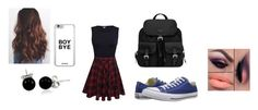 """""""Little Stilinsky (Liam Dunbar)"""" by dirtynathanielx on Polyvore featuring Prada, Converse and Bling Jewelry"""