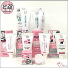 Objectif jolie peau avec les nouveaux produits pour le visage Soap & Glory   A shopper sur https://www.v-inc.fr/  (Lien du shop dans la bio)  #Vinc